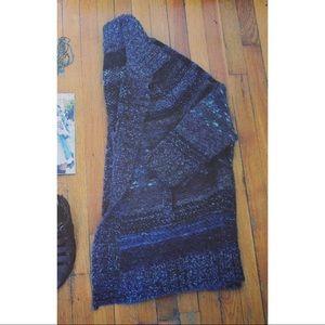 Free People Mix Knit Cardigan (M)